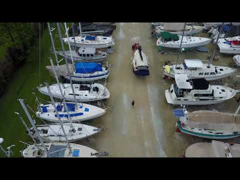 Charlotte Harbor Boat Storage Yard And Moving Boat