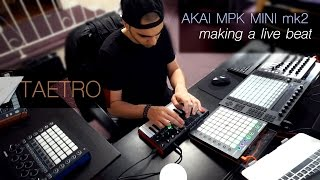 Create A Beat With Akai MPK Mini | Live Beat & Tips