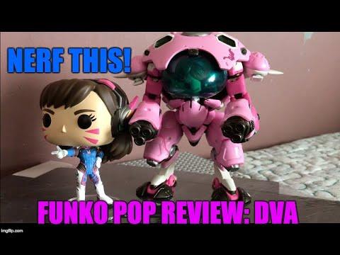 Funko Pop Review: D.Va (New & Old)  (Overwatch)