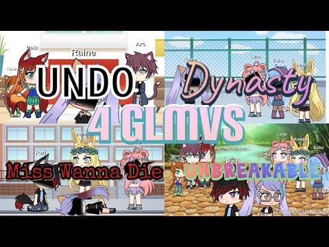 Gacha Life | Undo & Dynasty & Miss Wanna Die & Unbreakable | GLMV/ GLMM | Read DESC and Comment! 13+