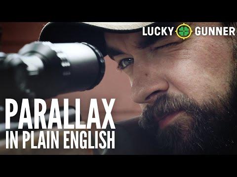 Rifle Scope Parallax in Plain English