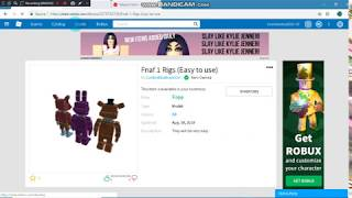 Tutorial Video: How to sell your models on roblox!