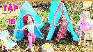 CÔ BÉ HIẾU THẢO _ TẬP 15 _ BUỔI CẮM TRẠI ĐỊNH MỆNH CỦA HẠ MY (Phim búp bê Barbie trẻ em)