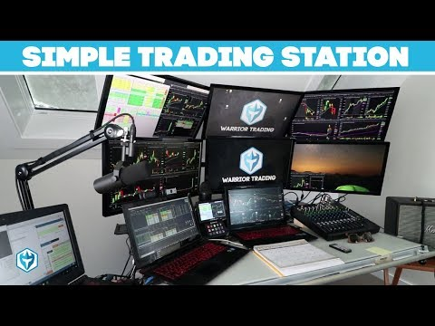 How to set up a Simple Day Trading Station for Penny Stocks or Crypto Trading