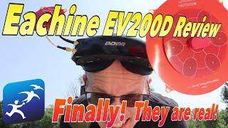 Eachine EV200D Goggles Review, Quadversity lets you do what?