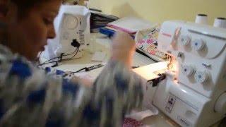 Como costurar uma blusa de moletom com punhos