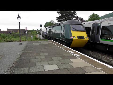 Great Western Railways Class 43 HST Departing Great Malvern (06/5/17)