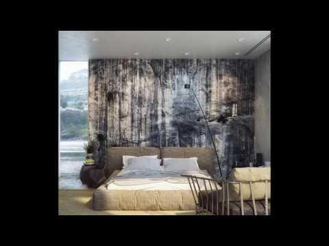 Стильные фотообои   идеи для спальни