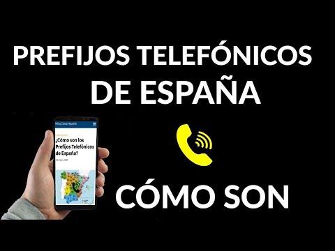 ¿Cómo son los Prefijos Telefónicos de España?