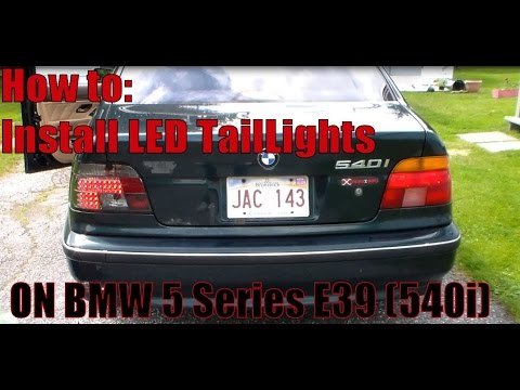 How To Install BMW 5 Series LED Tail Lights E39