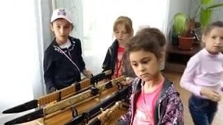 Выставка деревянного оружия