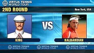 PSP Cheats for Virtua Tennis World Tour