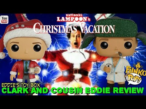 National Lampoons Christmas Vacation: Clark Griswold and Cousin Eddie Funko Pop! Review!