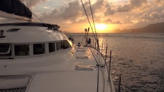 Caribbean Charter Catamaran Sailing Yacht Aldebaran - by YachtingImage.com Yacht Video