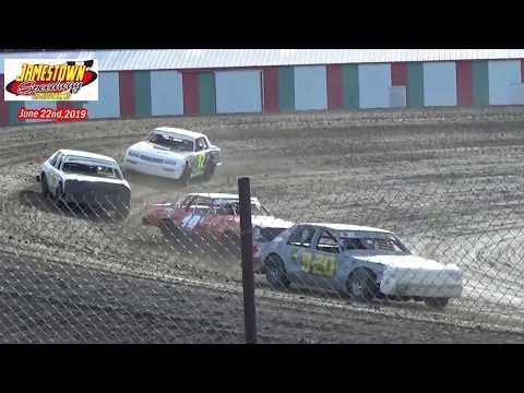 Jamestown Speedway Bomber Heats (6/22/19)