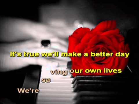We are the World Karaoke.avi