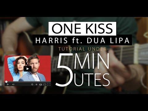 One Kiss - Calvin Harris Dua Lipa Easy Guitar Tutorial/Lesson + ...