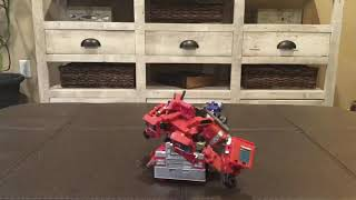 Studio Series 38 Optimus Prime Stop-Motion