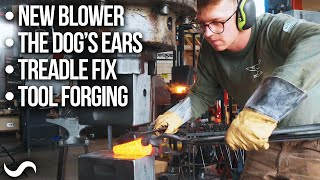 NEW FORGE BLOWER, YOGO'S EARS, FORGING TOOLS!!!