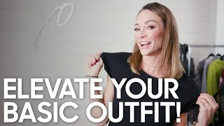 How to Elevate Your Basic outfit!