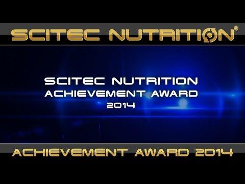 SCITEC NUTRITION - ACHIEVEMENT AWARD 2014
