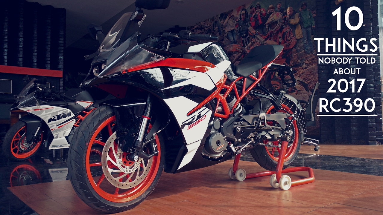 New KTM RC 390 - Here are 10 things no one told you