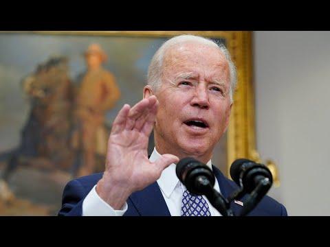 'The sooner we can finish, the better': Joe Biden on Afghanistan evacuation