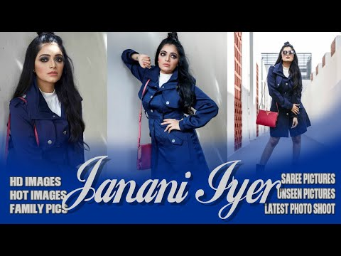 Bigg boss Janani Iyer Hot Images   HD Pictures   latest PhotoShoot   Family photos   Saree Pictures