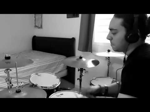 SASHA BANKS - Sky's The Limit - (Rock Version) CLIPS Drum Cover