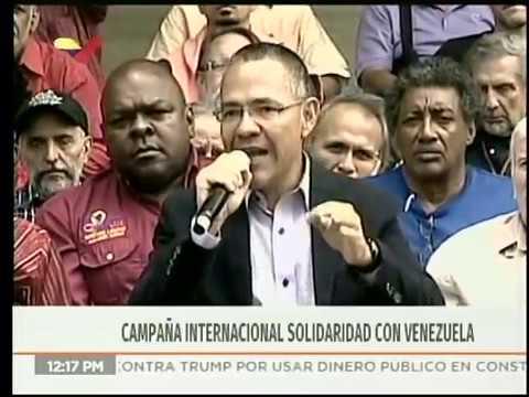 Ministro Ernesto Villegas convoca a artistas del mundo a campaña en apoyo a Venezuela