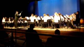 ALL CAPE COD HIGH SCHOOL CONCERT BAND 2013- song from Lord of the Rings