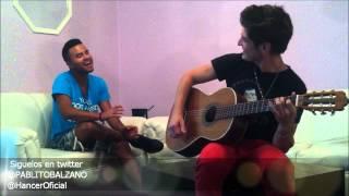 Mi Niña Bonita - Chino & Nacho /// Pablo Balzano ft. Hancer /// Versión Acústica