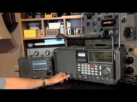 Comparing Radios SW77 vs Satellit 800 vs R390A (vs PCR1000)