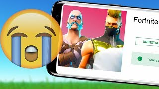 SAD NEWS for Fortnite Mobile on Android!