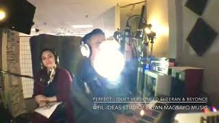 Perfect - (Duet Version) Cover By Bryan and Angel Ram