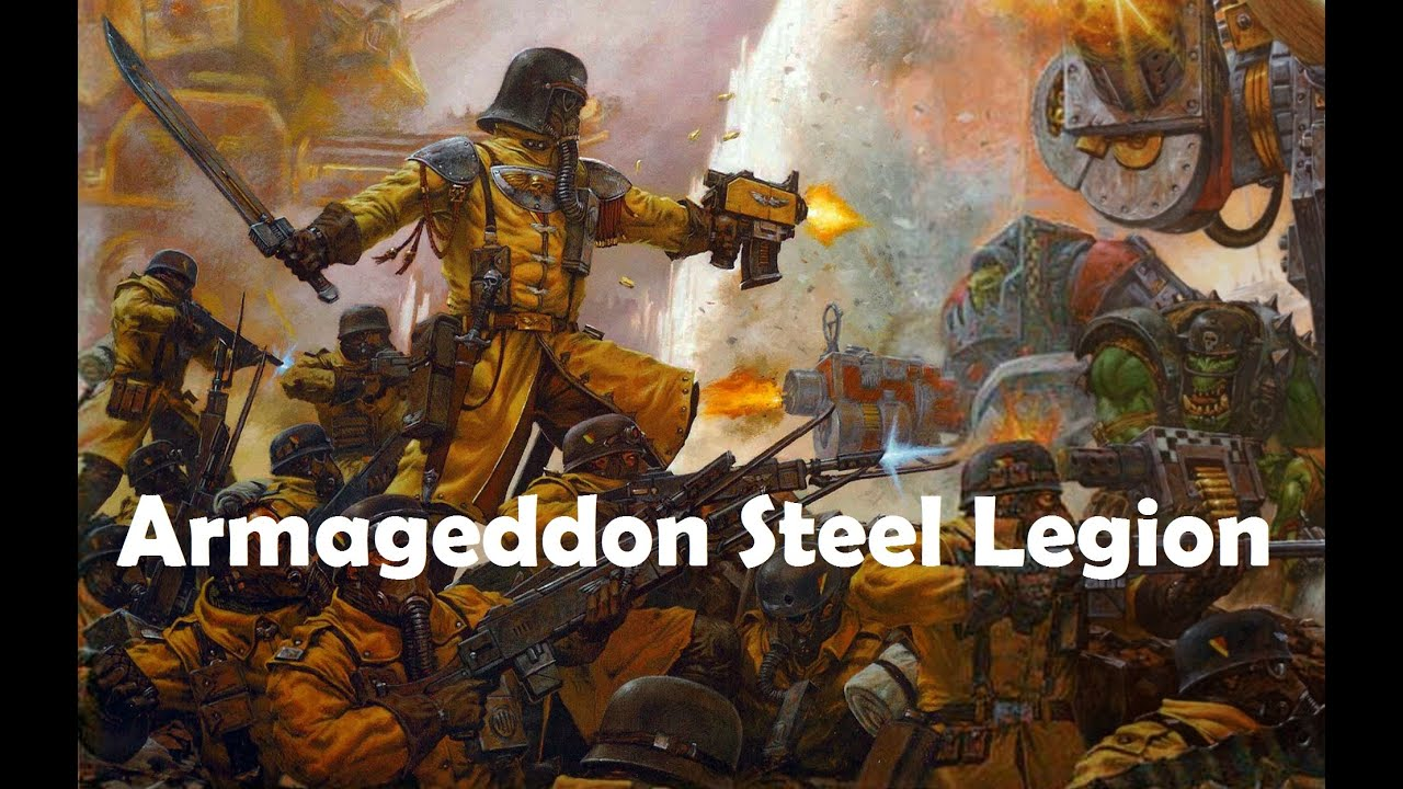 Armageddon STEEL LEGION - Backround & Lore - YouTube