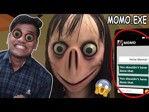 MOMO Se MULAKAT  *SCARY*  - MOMO.EXE (Horror Game)