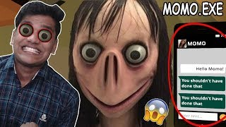 MOMO Se MULAKAT  *SCARY*  - MOMO.EXE (Horror Game)