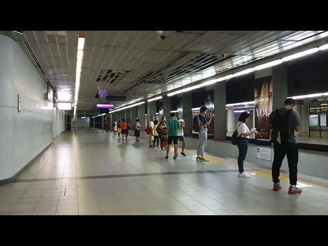 LRT 2 Ride - Katipunan to Recto Station