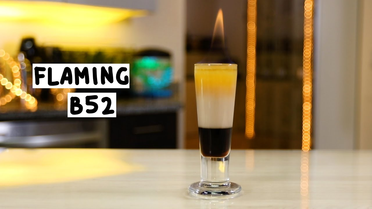 Cocktail recipe b-52