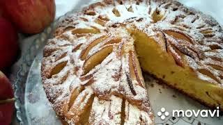 Очень вкусный и красивый яблочный пирог. delicious apple pie #выпечка #вкусняшки #пирог #yummy #pie