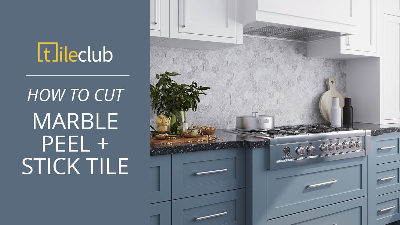 how to peel and stick tile for a diy