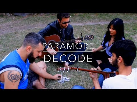 Decode - Velit Culture(Paramore acoustic live cover) with lyrics