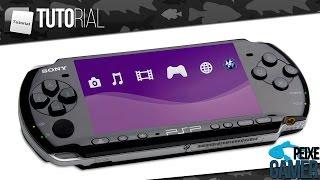 Tutorial de Como Desbloquear PSP na Firmware 6.61