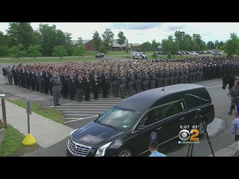 Funeral Held For NY State Trooper
