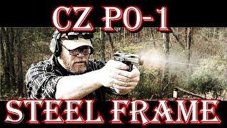 CZ P-01 Steel Frame Range Review!  EDC TANK