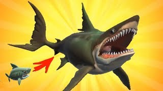 РАЗБУДИЛ МЕГАЛОДОНА!!! АКУЛА МОЕЙ МЕЧТЫ! HUNGRY SHARK HEROES