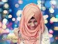 Criss Cross Hijab Tutorial with georgette orna|| Summer inspired hijab tutorial || Noshin Nower ❤