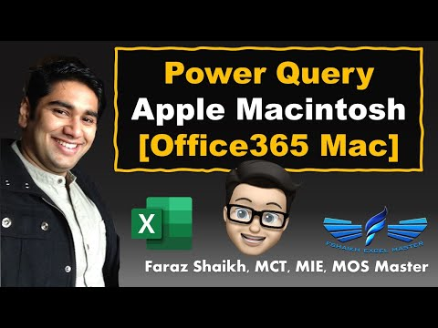 Refresh Your Excel Power Query For Office 365 Mac (Apple) | Phase 1