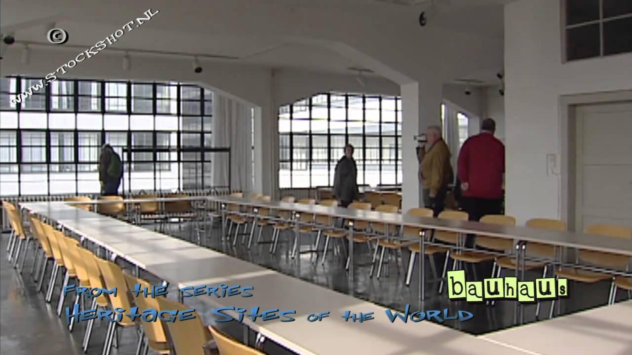 The bauhaus building by walter gropius world heritage - Bauhaus iluminacion interior ...